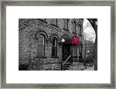 The Milwaukee House Framed Print