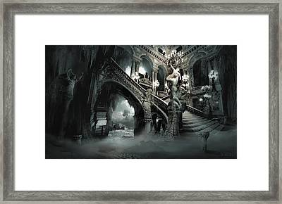 The Mind Cave Framed Print by George Grie