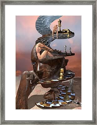 The Mind Game Framed Print