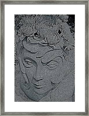 The Mind Of Medusa  Framed Print by Chris Berry