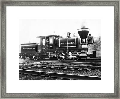 The Minnetonka Locomotive Framed Print