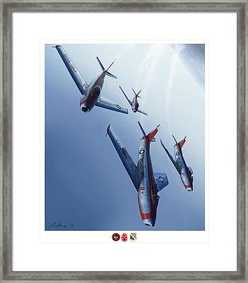 The Minutemen Framed Print by Hangar B Productions