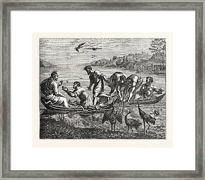 The Miraculous Draught Of Fishes Framed Print