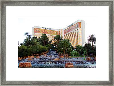 The Mirage Framed Print by Andrea Dale