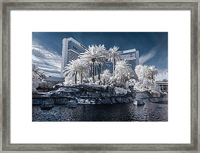 The Mirage In Infrared 2 Framed Print