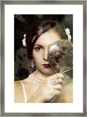 The Mirror Framed Print by Joana Kruse