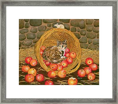 The Misses Maitland Framed Print by Ditz