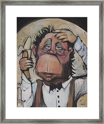 The Missing Link Framed Print by Tim Nyberg