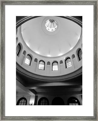The Mission - Mike Hope Framed Print