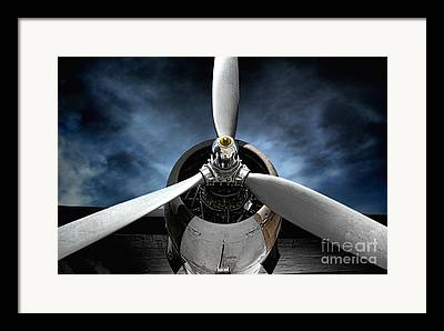 Bomber Framed Prints