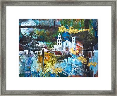 The Mission Framed Print by Patricia Allingham Carlson