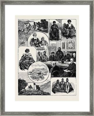 The Mission To The Assyrian Christians Of Kurdistan 1 Framed Print by English School