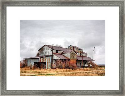 The Mississippi Delta Cotton Gin Framed Print by JC Findley