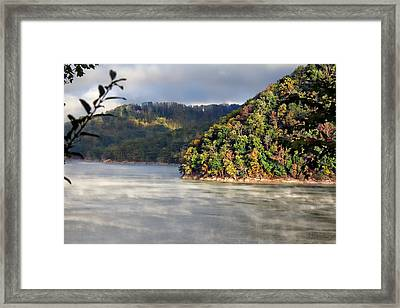 The Mists Of Watauga Framed Print