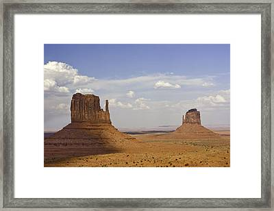 The Mittens Framed Print by Jeanne Hoadley
