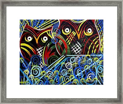 Framed Print featuring the painting The Mix by Amy Sorrell