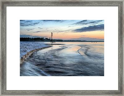 The Mixing  Framed Print