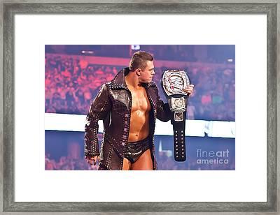 The Miz - Wwe Champion Framed Print