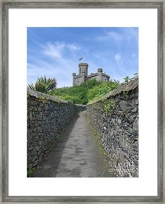 The Moat Framed Print