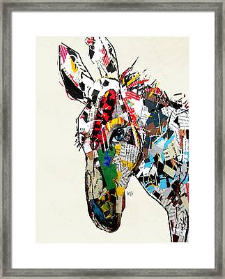 The Mod Donkey Framed Print by Bri B