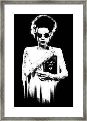 The Modern Bride B Framed Print by Filippo B