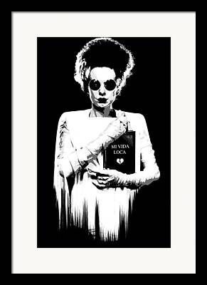 Kittin Framed Prints