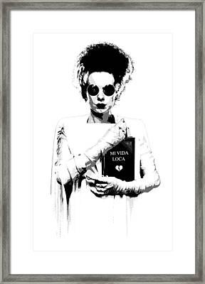 The Modern Bride Framed Print by Filippo B