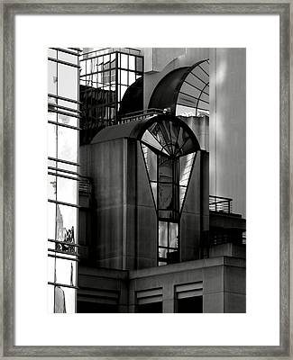 The Modern Highrise Framed Print by Bill Gallagher