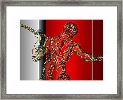 The Modern Man 2 Framed Print