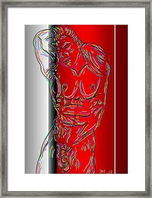 The Modern Man 3 Framed Print by Mark Ashkenazi