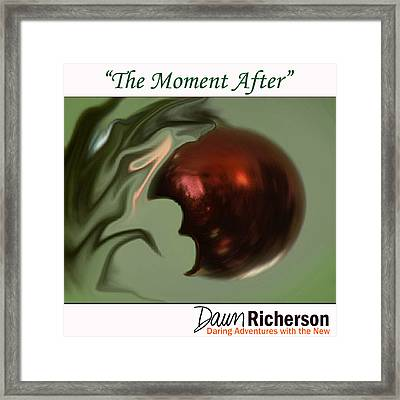 The Moment After Framed Print