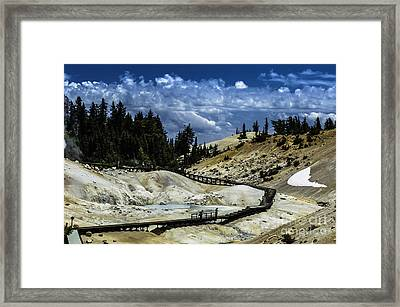 The Moment Ends Framed Print