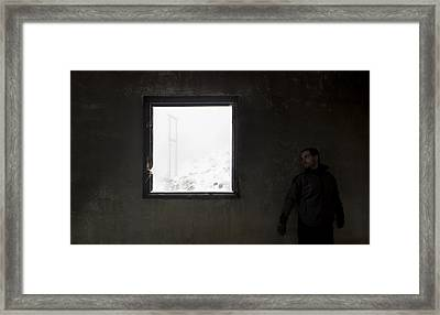 The Moment Before Contemplation Framed Print by Fernando Alvarez