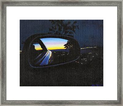 The Moment I Knew Framed Print by Kim Cyprian