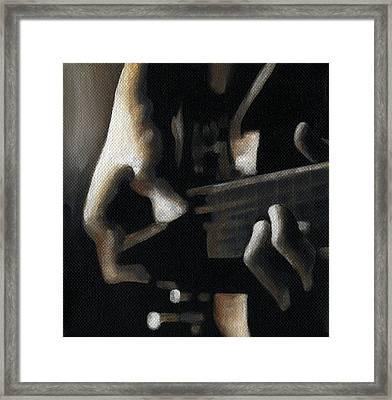 The Moment Framed Print by Natasha Denger