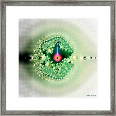 The Moment Of Conception Framed Print by Renee Trenholm