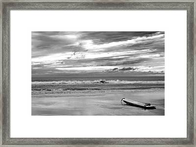 Framed Print featuring the photograph The Moment by Steven Santamour