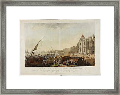 The Monastery Of St Jerome Framed Print by British Library
