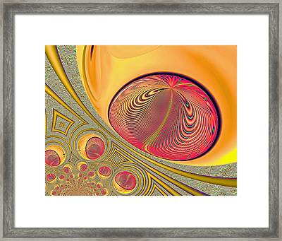 The Monitor Framed Print