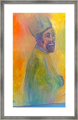 The Monk $2500 Sold Framed Print