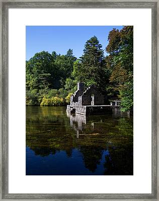 The Monks Fishing House, Part Of Cong Framed Print