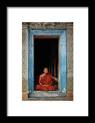 Budhism Framed Prints