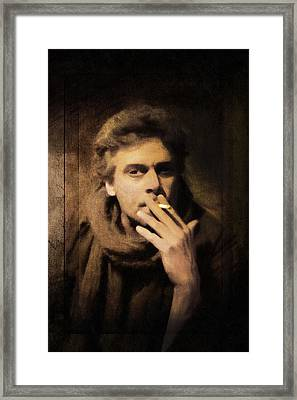 The Monk's Vice Framed Print
