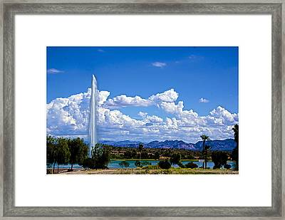 The Monsoon Is Not Over Framed Print by Barbara Zahno