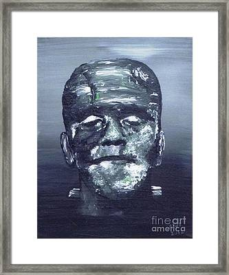 The Monster Framed Print by Alys Caviness-Gober