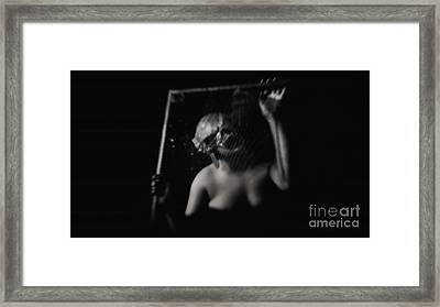 The Monster In Me Framed Print by Jessica Shelton