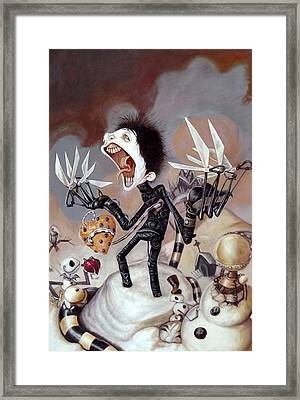 The Monster Person Framed Print by Anny Huang