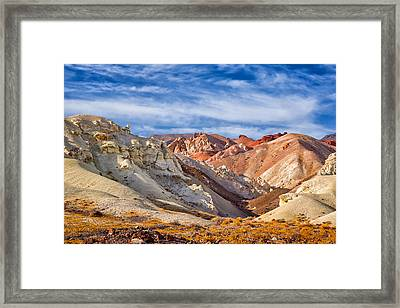 The Monte Cristos Central Nevada Framed Print by Janis Knight