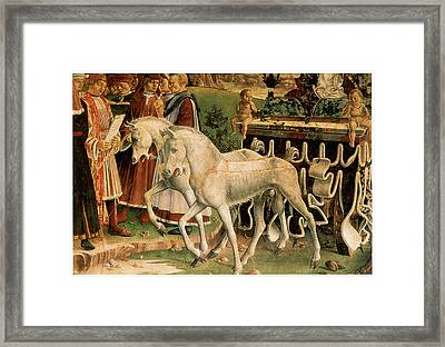 The Month Of March Framed Print by Francesco Del Cossa
