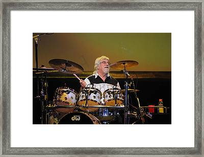 The Moody Blues Graeme Edge 8-8-2009 Framed Print